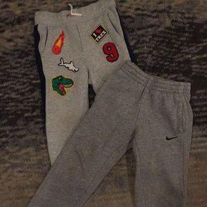 Bundle 2 pair 3t boys sweatpants